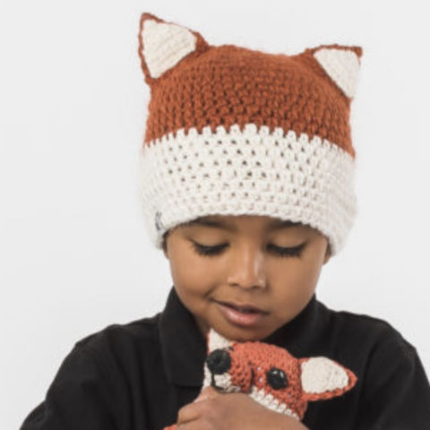 Fox Beanie by Krochet Kids
