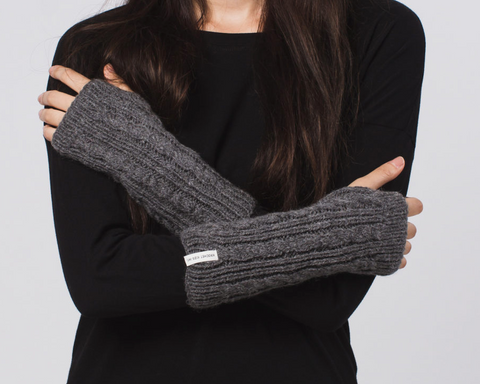 The Alexa Fingerless Gloves by Krochet Kids