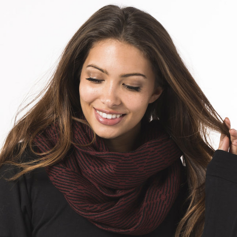 The London Infinity scarf by Krochet Kids