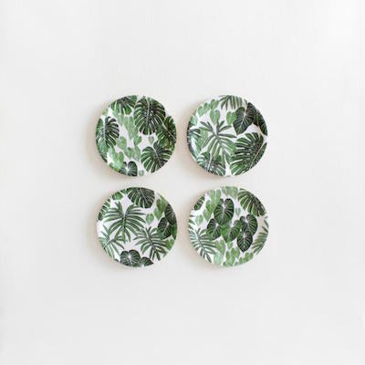 Bohemian Tropical Coasters designed by Living Pattern