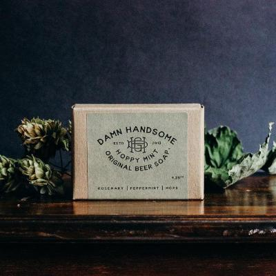 Original Beer Soap Bar {Damn Handsome Grooming Co}