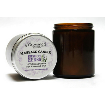 Soy Massage Candle {The Grapeseed Company}