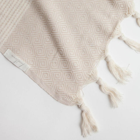 Hare Throw Blanket by The Handloom
