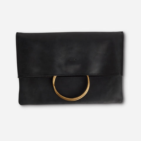 Nyala Foldover Clutch by Parker Clay
