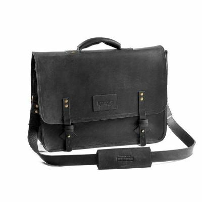 Leather Briefcase \\ Parker Clay