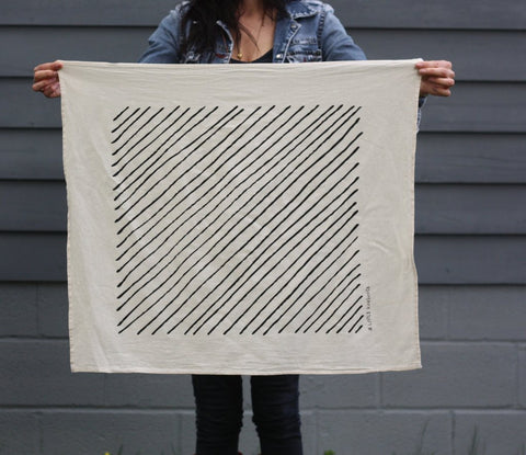 Organic Tea Towels {Little Korboose}