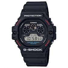 G Shock Retro Model Red & Black DW5900-1D