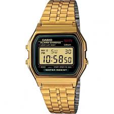 Casio R/G Digital Watch A159WGEA