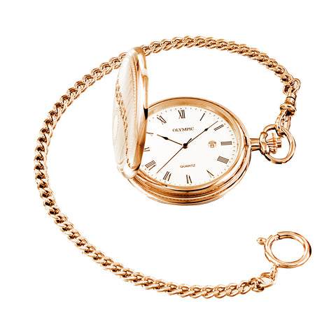 Olympic Pocket Watch - Rose
