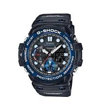 G Shock Gulfmaster twin sensor blue/black watch