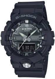 G Shock Black with Grey Accent GA810MMA-1A