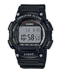 Casio Digital Vibration Alarm Watch Black