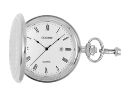 Olympic Pocket Watch - Steel