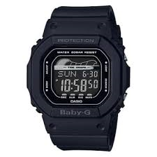 Casio Baby G Black Digital Tide Graph Watch