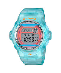 Baby G Blue case and Orange Dial BG169R-2C