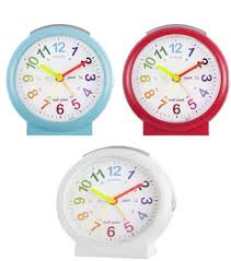 Lulu Time Teaching Alarm Clock RED