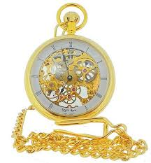 Regent Louis Skeleton Mechanical Pocket Watch