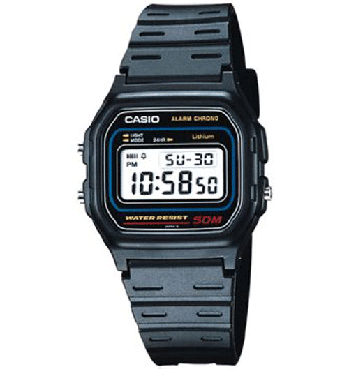 Casio Digital Watch W-59-1V