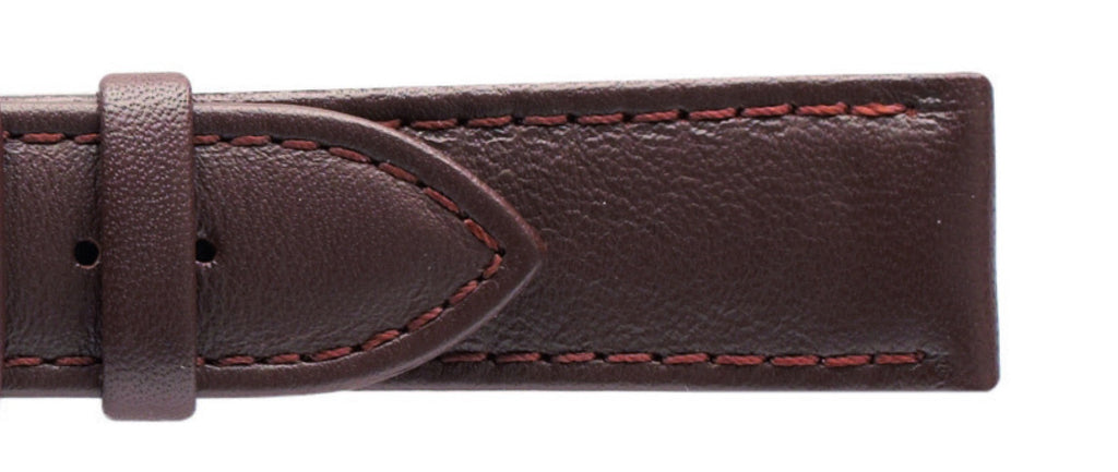 Genuine Calf Leather - Brown