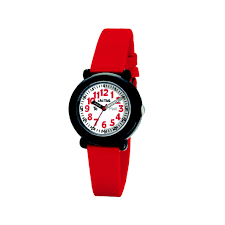 Cactus Time Teacher Kids Watch Red and Black