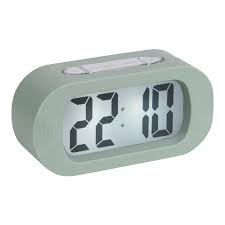 Karlsson Green Gummy Alarm Clock