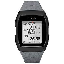 Timex GPS Grey & Black Watch