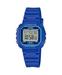 Casio LA-20WH-2A Blue Watch
