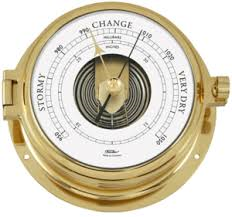 Brass Nautic Barometer 160mm