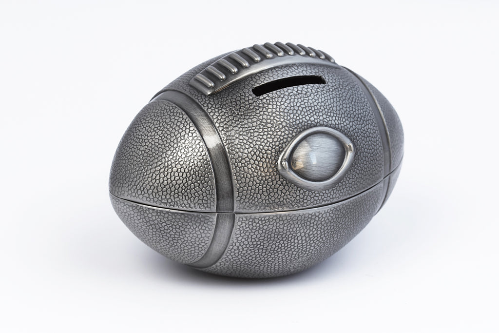 Rugby Ball Money Box