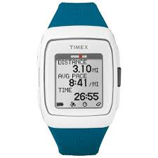 Timex Ironman GPS Watch Blue & White
