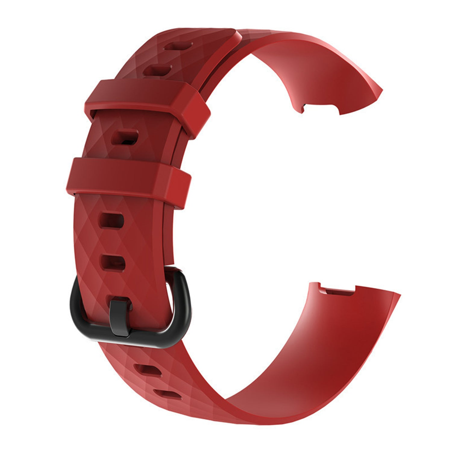 Fitbit Charge 3 & 4 Silicone - Red