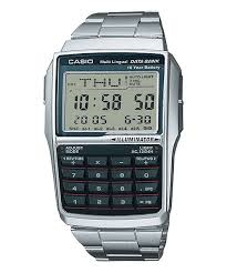Casio Classic Databank Stainless Steel Watch