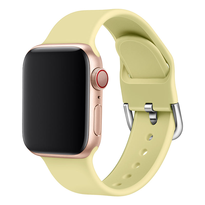 Apple iWatch Silicone Band - Yellow