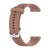 22mm Silicone Band Brown - Samsung, Garmin