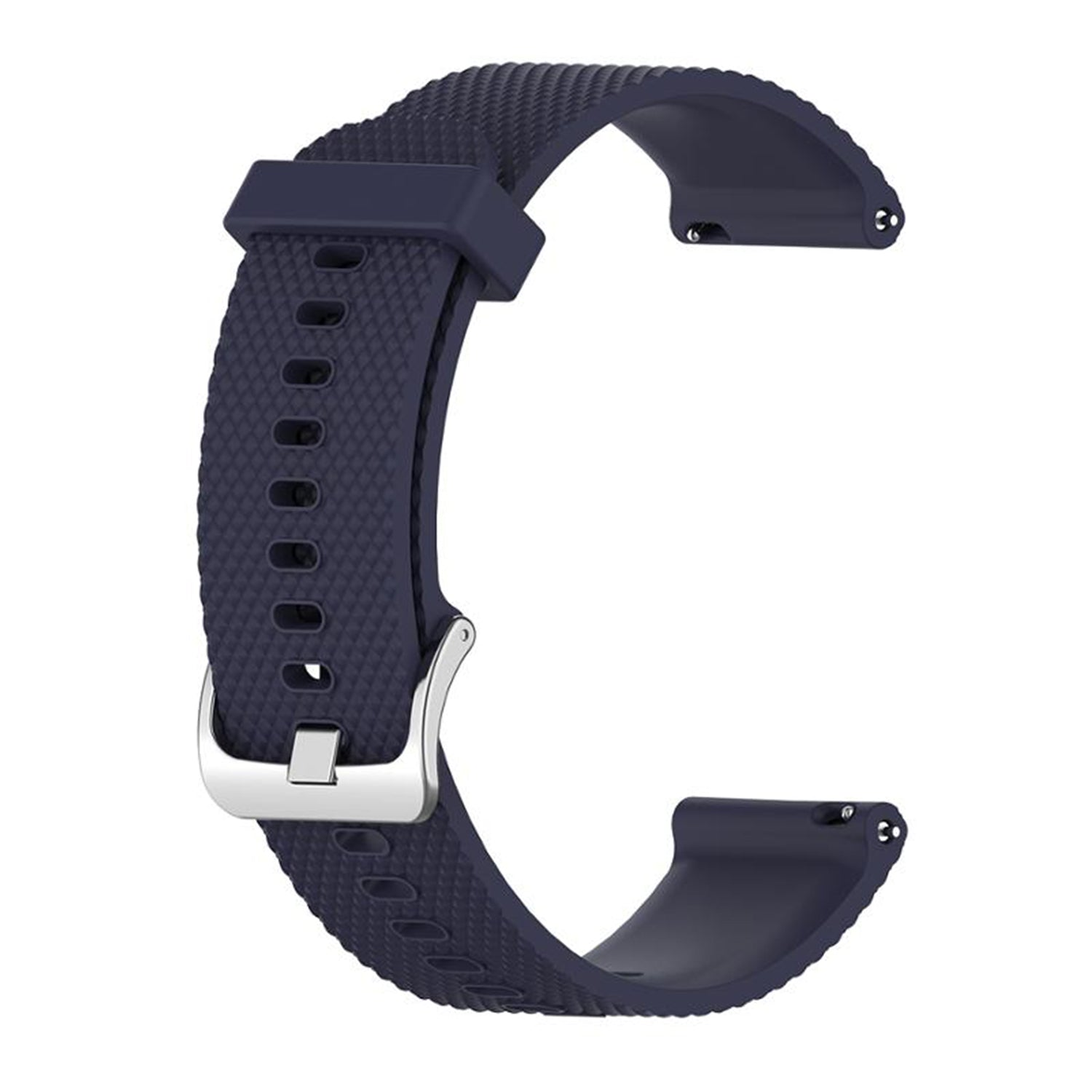 22mm Silicone Band Navy - Samsung, Garmin