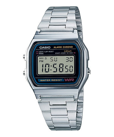 Casio Digital Watch Vintage Series A158WA-1A