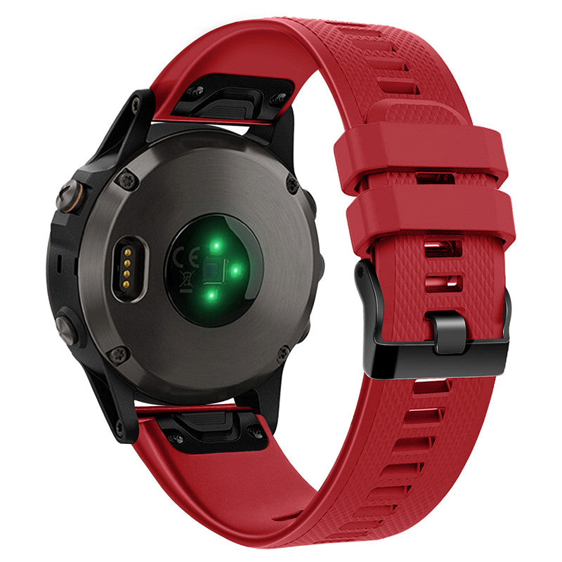 Replacement Band For Garmin Forerunner & Fenix - Red