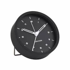 Karlsson Tinge Alarm Clock Black
