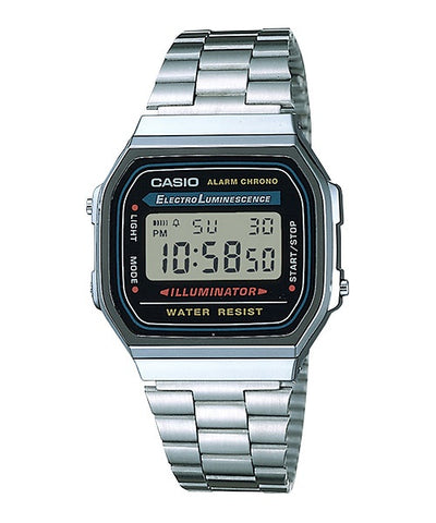 Casio Digital Watch A168WA-1W
