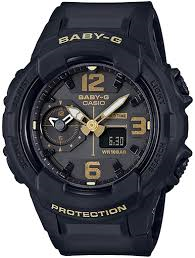 Black/Gold Baby G Watch
