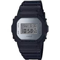 G Shock Mirror Dial Black Resin Watch