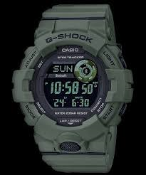 Casio G Shock G Squad Bluetooth Step Counter Green Utility Watch
