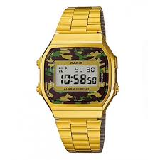Casio Digital Camo A168WEGC-3D