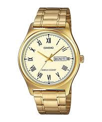 Casio Analogue Gold Plated Watch