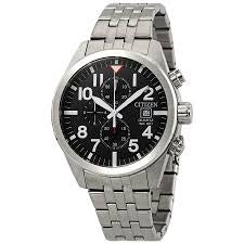 Gents Citizen Stainless Steel Chronograph Watch