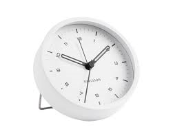 Karlsson Tinge White Alarm Clock