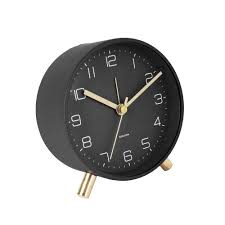 Karlsson Lofty Black Alarm Clock