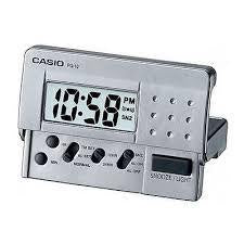 Digital Travel Alarm Clock (silver)