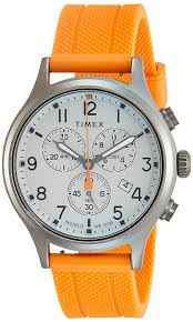 Timex Allied Grey Dial Silicone Strap Men's Watch