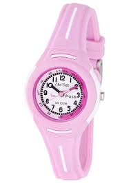 Cactus Kids Time Teacher Pink Watch